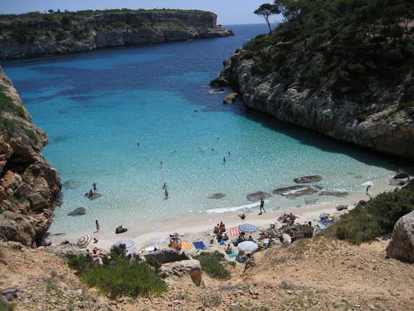 visitare Maiorca spiagge Calo-des-Moro