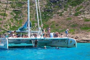 Catamaran Mallorca taiti 75