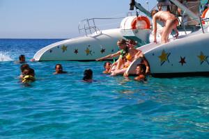 escursione con catamarano in Maiorca