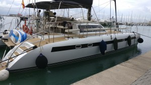 Mallorca catamaran free bird 38 pers
