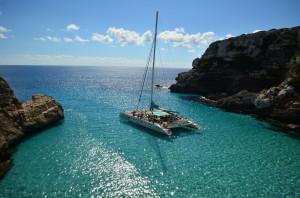 Mallorca, escursione in catamarano