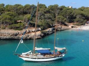 Barca a vela privata a Maiorca