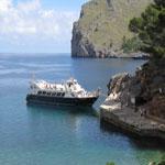 Mallorca tour, bateau Soller Sa Calobra
