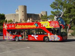 Maiorca da visitare, bus turistico Palma di Maiorca