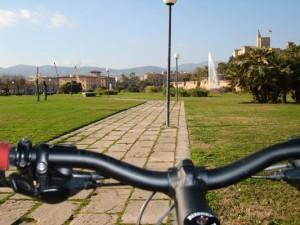 Palma in bicicletta Parc-de-la-Mar