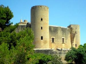 Palma panoramica, Castello di Bellver Palma di Maiorca