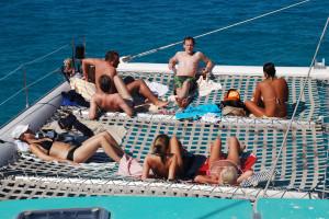 Escursione in catamarano, Mallorca